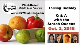 Talking Tuesday -Q&A with the Starch Queens Oct 2, 2018