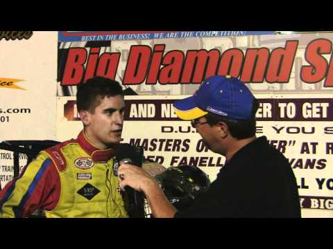 Big Diamond Raceway ARDC Midget Victory Lane 5-30-11