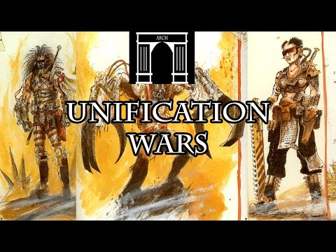 40k Lore, The Unification Wars