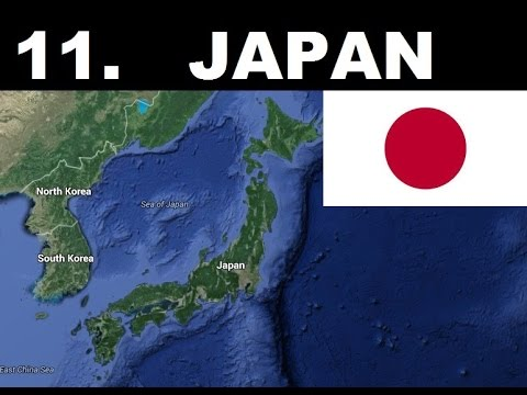 Top 15 Most Hated Countries in the World 2015