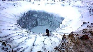В воронку на Ямале спустились ученые. ''Миграция газа'' и новые воронки