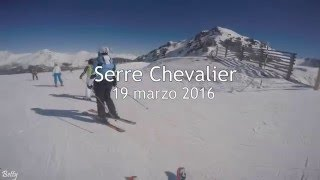Skiing at Serre Chevalier - GoPro hero 4 editing