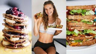 WHAT I EAT/FULL DAY OF EATING + RECIPES! | EASY & VEGAN | Vlogmas Day 17