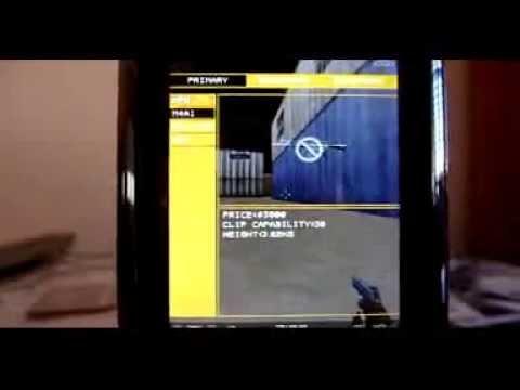 Micro Counter Strike en el Motorola Z6