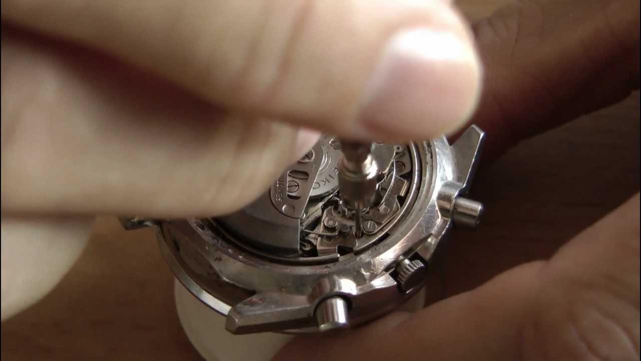 Smontaggio Seiko 6139 Disassembly Www Orologiaiomatto It