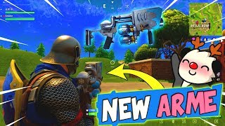 [Nouvelle Arme SUPER FUN] TOP 1 au LANCE BOULES DE NEIGE Fortnite: Battle Royale