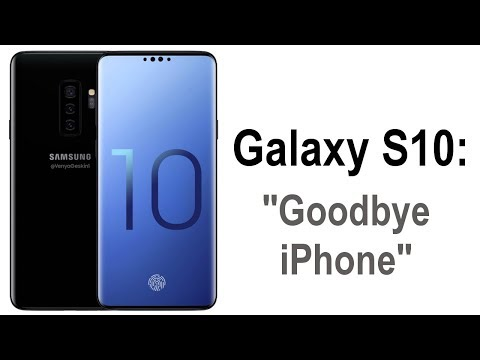 Samsung Galaxy S10 is going to CRUSH the next-gen iPhone X