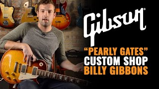 """Pearly Gates"" Gibson Les Paul Signature Custom Shop Billy Gibbons Guitar"