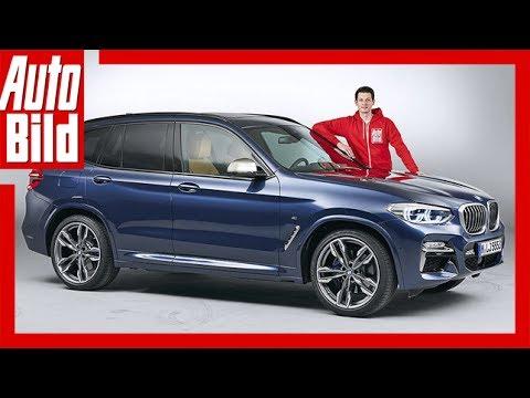 BMW X3 G01 (2017) / Vorstellung / Details / Sitzprobe / Interieur / Exterieur