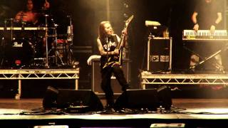 "Children of Bodom perform their track ""Kissing the Shadows"" as part..."