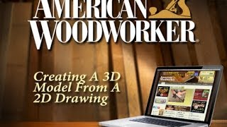 Creating A 3d Model From A 2d Drawing