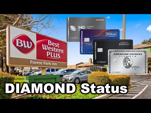 Use Credit Cards For Best Western DIAMOND Status