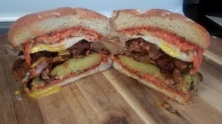 How To Make The Ultimate Breakfast Burger - Spicy Chorizo, Potato, And Egg!