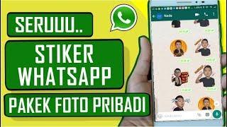 Download Video cara bikin stiker whatsapp pakai foto sendiri MP3 3GP MP4