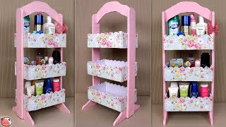 Space Saving ROOM ORGANIZER !!! Best Out Of Waste 2019