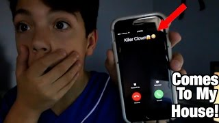 prank calling a killer clown goes wrong he comes to my house
