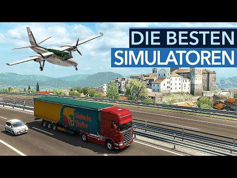 Die besten Simulatoren mit LKWs, Zügen, Flugzeugen und mehr für PC-Spieler