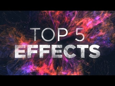 5 Fantastici EFFETTI in After Effects!