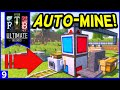 FTB Ultimate: Reloaded - Automated Mining! (Steve's Carts Mine) Ep9