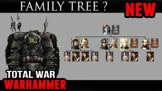 Total War: Warhammer - Family Tree / Blood and Gore