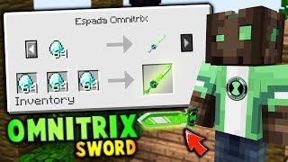 COMO CONSEGUIR LA ESPADA DE OMNITRIX EN EGGWARS! 😱👽 OMNITRIX EN MINECRAFT - EGGWARS Minecraft