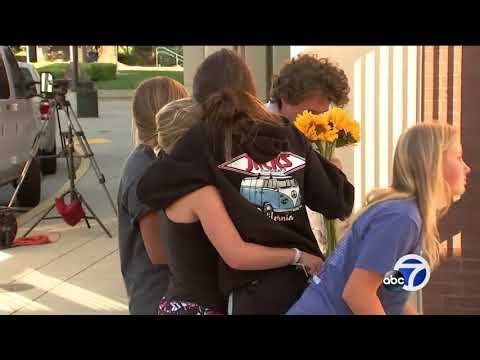Memorial grows for San Ramon Valley High School student