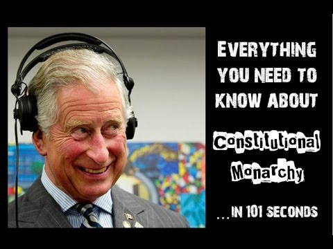 101 Second Videos: Constitutional Monarchy