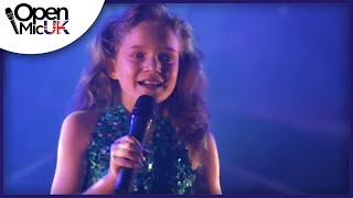 Repeat youtube video LET IT GO - IDINA MENZEL performed by SAPPHIRE at Open Mic UK singing competition Grand Final