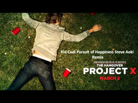 Kid Cudi Pursuit Of Happiness Steve Aoki Remix - (Project X) - Yeah Yeah Yeahs