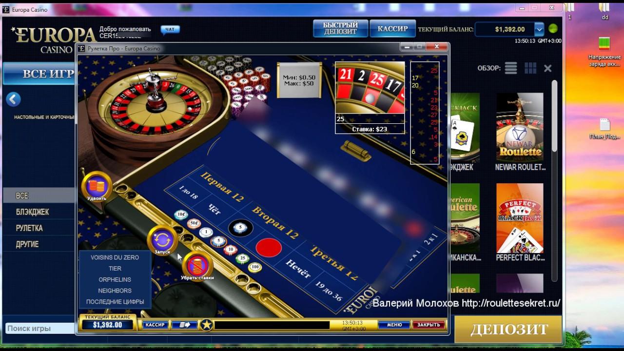 Системы Казино в Новой Европе Тестирования | азартная игра казино европа