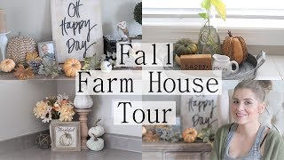 FALL FARM HOUSE TOUR ll FALL DECOR TOUR 2018