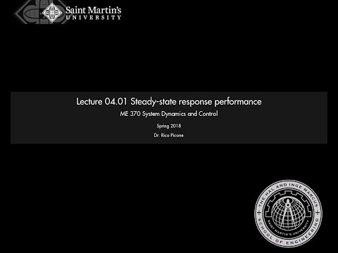 04.01 Steady-state response performance