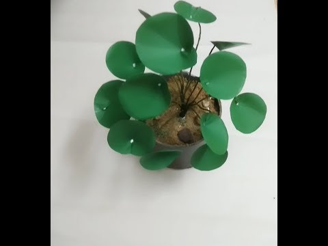 DIY show plant : how to make easy show plant from paper..