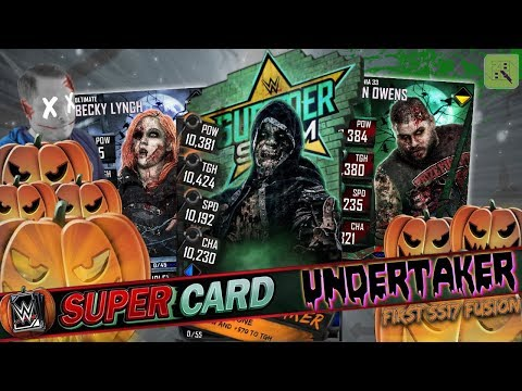 UNDERTAKER SPECIAL EVENT & MORE PUMPKIN PACKS! FIRST SS 17 FUSION!!  | WWE SuperCard