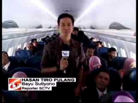 Tungku Hasan Tiro Tiba di Aceh