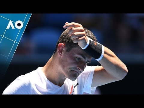 Thumbnail: Tomic v Bellucci match highlights (1R) | Australian Open 2017