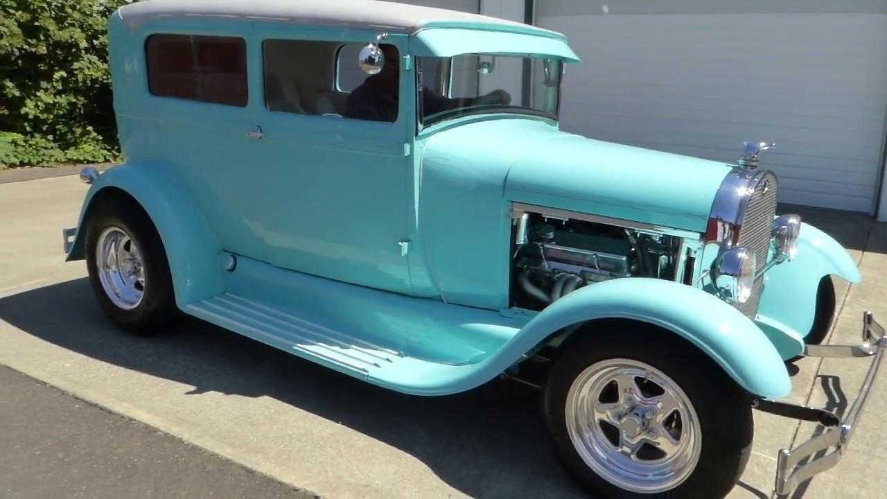 1928 Ford Model A 2 door Sedan \