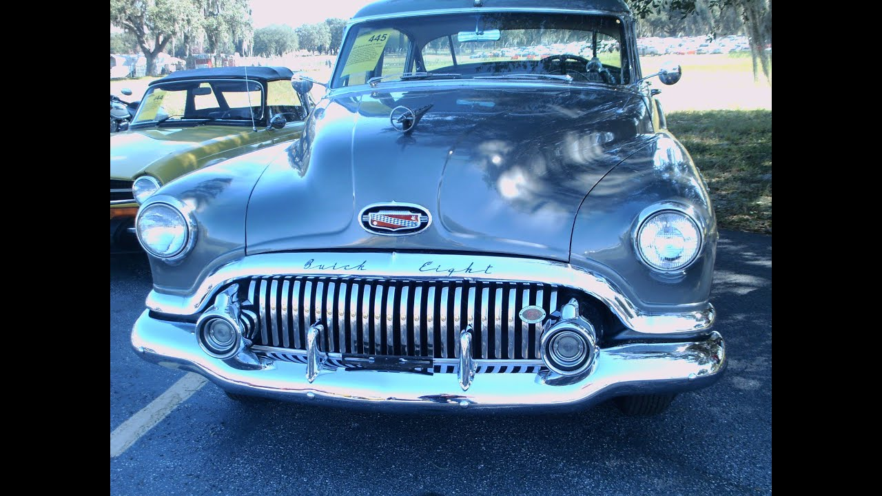 1951 Buick Super 4 Door Sedan Gray Youtube