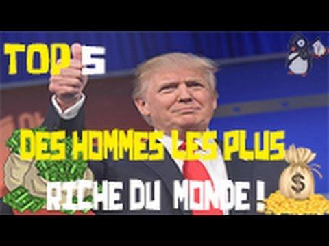 LES 5 HOMMES LES PLUS RICHES DU MONDE !!! (classement officiel 2016)