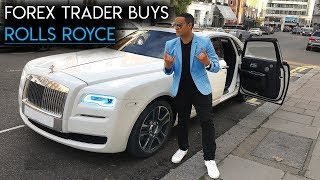 Forex Trader Buys $500k Rolls Royce At 23
