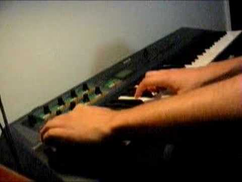 Yamaha AN1x virtual analog synth (www dan mus br) - YouTube