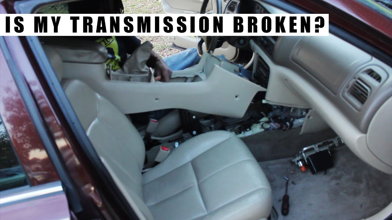 Buick Regal: Shifting out of Park (Automatic Transmission)