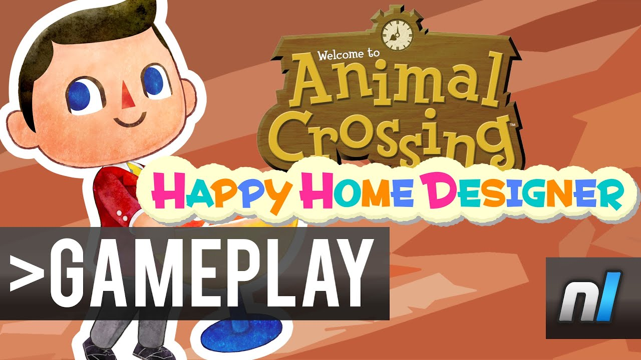 Animal Crossing: Happy Home Designer   First Look   YouTube