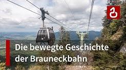 Die Geschichte der Brauneckbahn in Lenggries