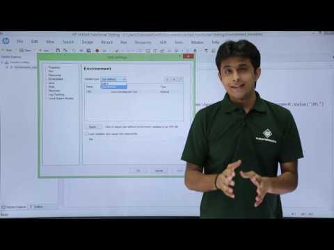 HP UFT/QTP - Environment Variables