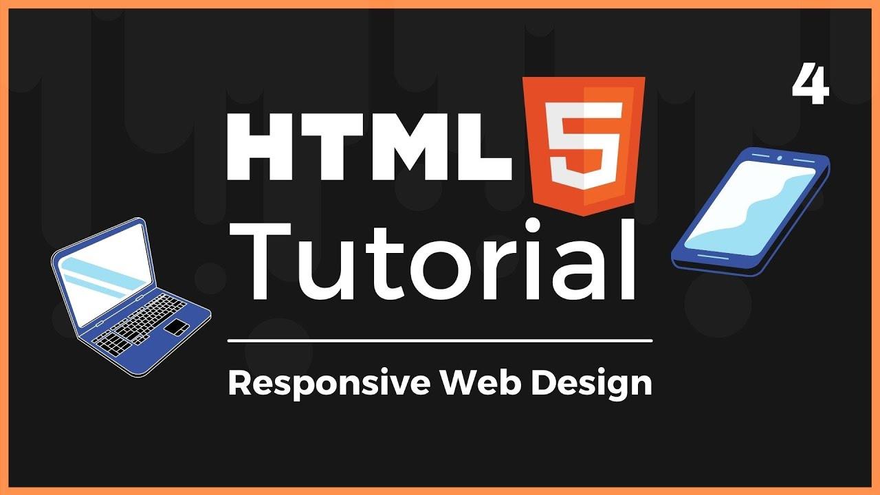 Full HTML5 Tutorial: Responsive Web Design (Lesson 4)