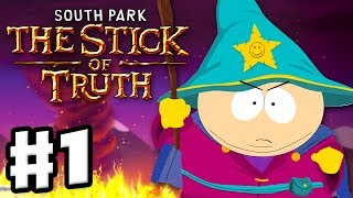 South Park: The Stick of Truth - Gameplay Walkthrough Part 1 - New Kid & Character Creation (PC)