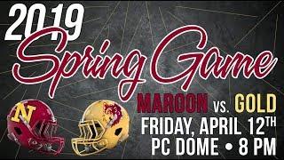 NSU Football Maroon vs Gold 2019 Spring Game Highlights