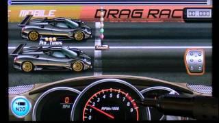 Repeat youtube video Drag Racing 11.626 Pagani Zonda R Android Market app