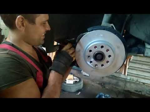 Замена тормозных колодок VAG 1J0698151G на Skoda Octavia mpi